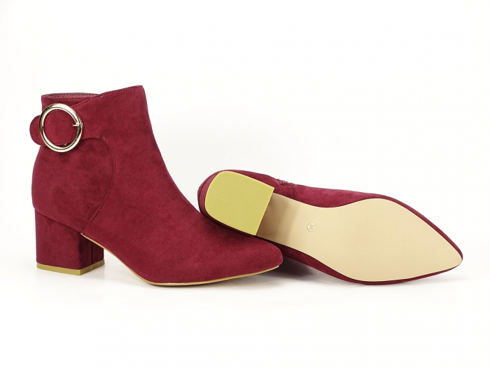 BOTINE BORDO CU TOC MIC JENNIFER 2