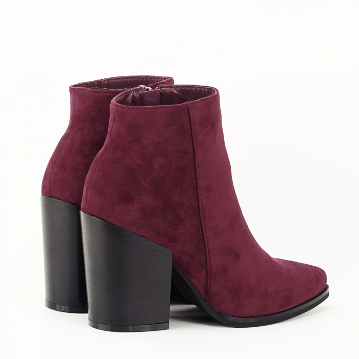 Botine bordo casual/office Vicky 5