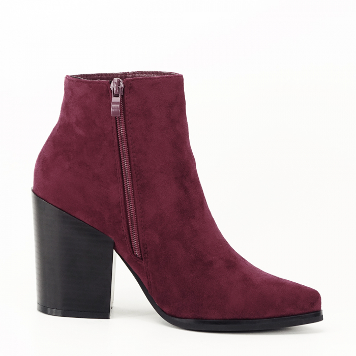 Botine bordo casual/office Vicky 3