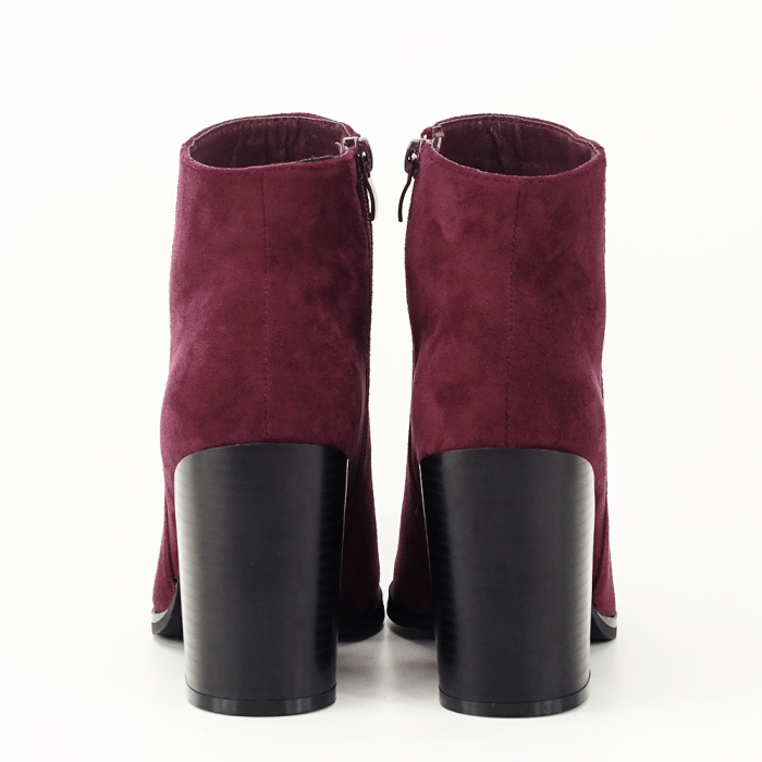 Botine bordo casual/office Vicky 6