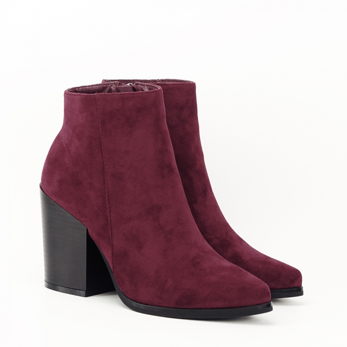 Botine bordo casual/office Vicky 9