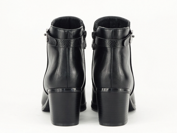 Botine negre elegante Dalida 7