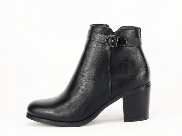 Botine negre elegante Dalida 0