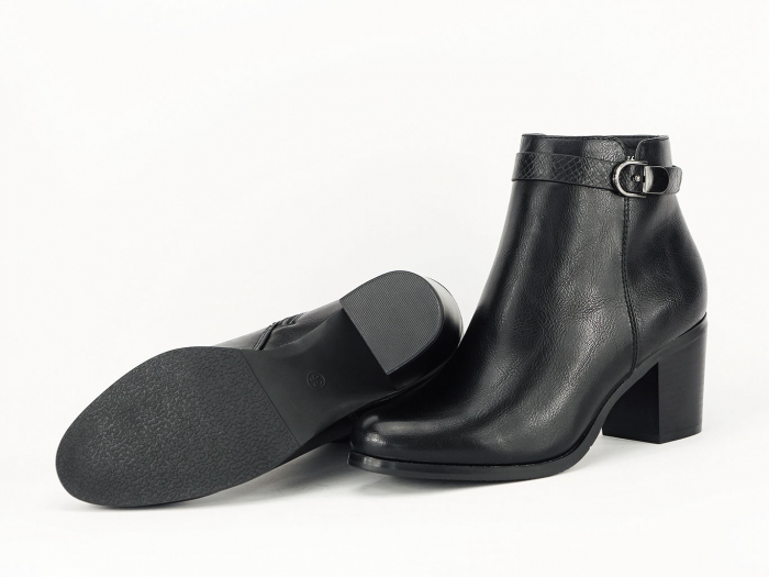 Botine negre elegante Dalida 3
