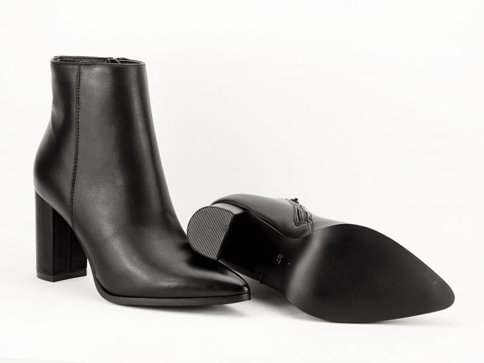 Botine negre elegante Ilaria 7