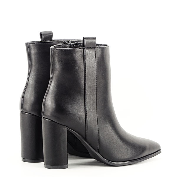 Botine negre office/casual Ginger 4