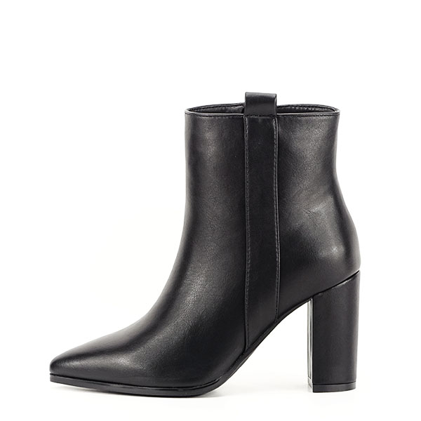 Botine negre office/casual Ginger 0