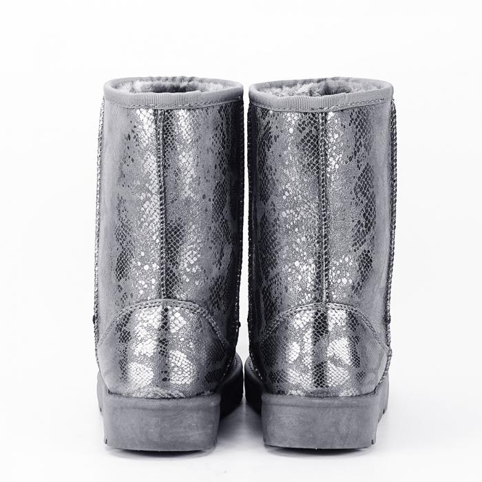 Cizme gri calduroase Lana 6