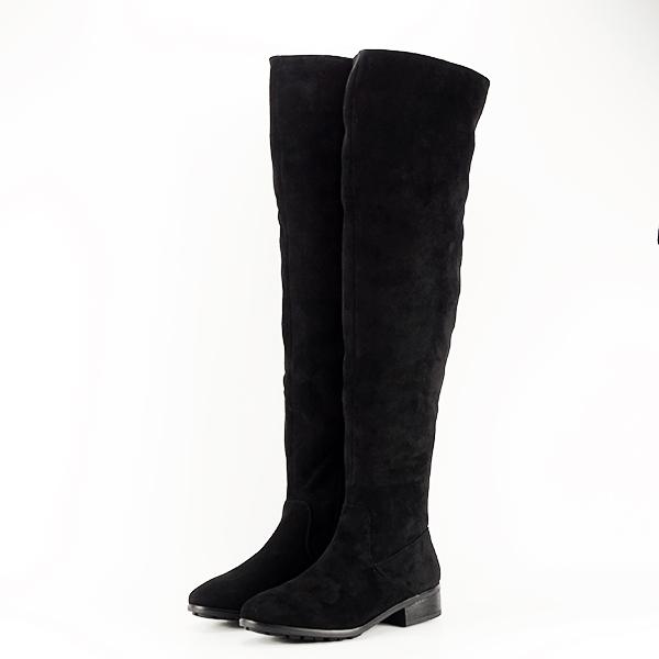 Cizme lungi negre Ramona [2]