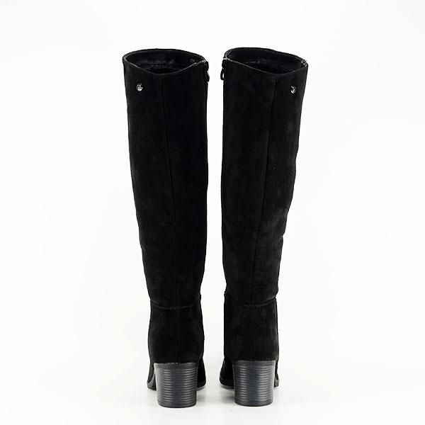 Cizme negre cu toc Roxana 5