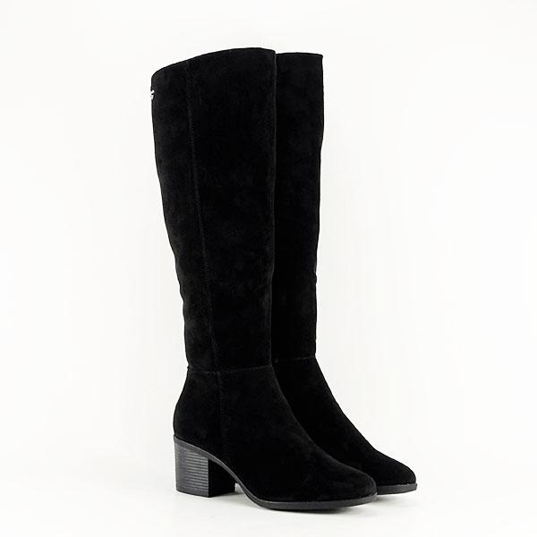 Cizme negre cu toc Roxana 2