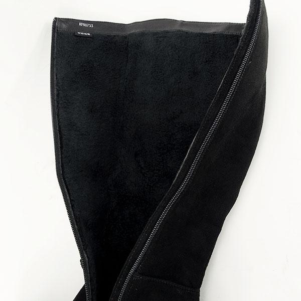 Cizme negre cu toc Roxana 6