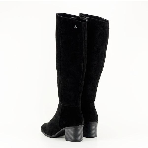 Cizme negre cu toc Roxana 3