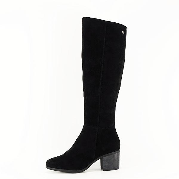 Cizme negre cu toc Roxana 0