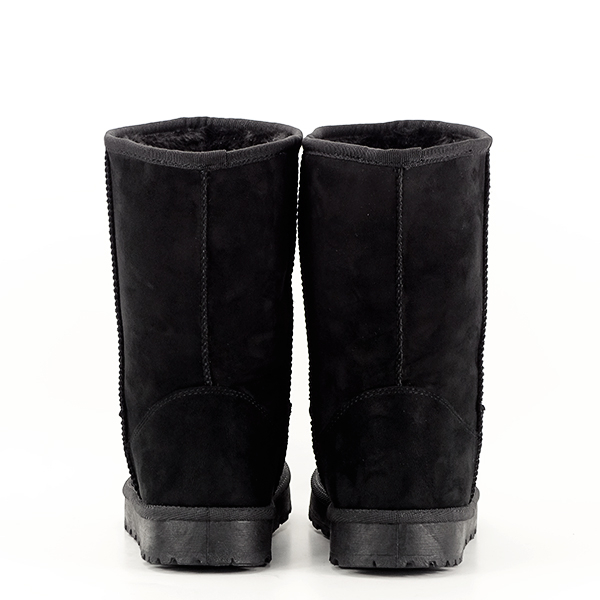Cizme negre din velur ecologic Blanca 5