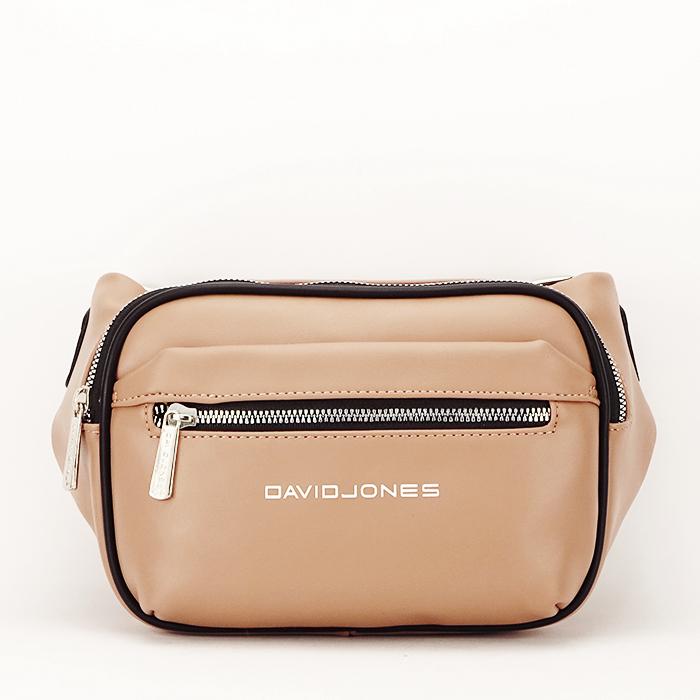 Borseta, geanta de brau bej Crina 1