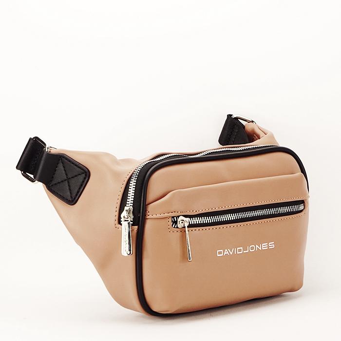 Borseta, geanta de brau bej Crina 0