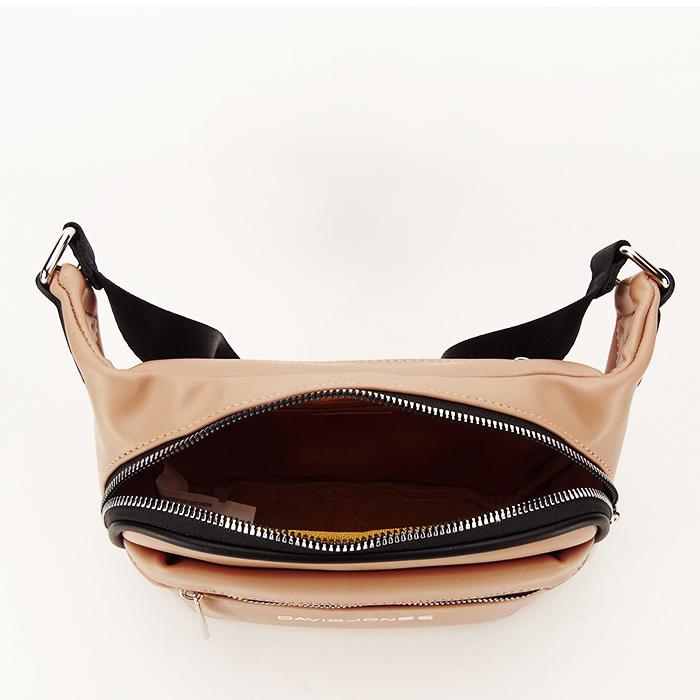 Borseta, geanta de brau bej Crina 3