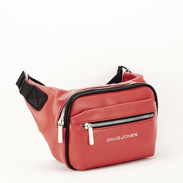Borseta, geanta de brau caramizie Crina 0