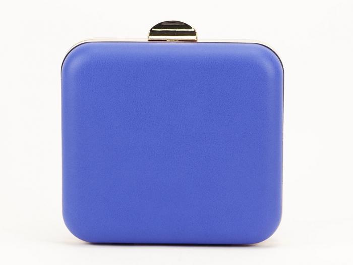 Geant clutch albastru elegant Ingrid 3