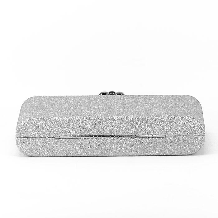 Geanta clutch argintiu Glory [5]