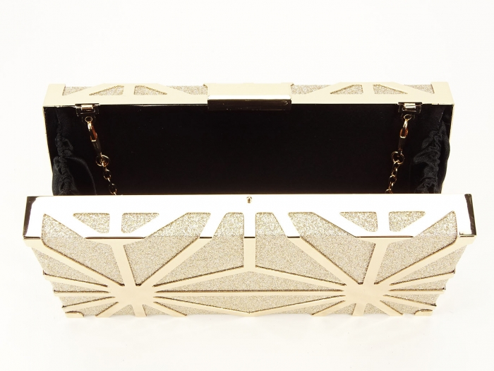 Geanta clutch elegant auriu Alison 3