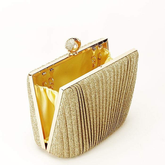 Geanta clutch auriu Ecaterina [4]