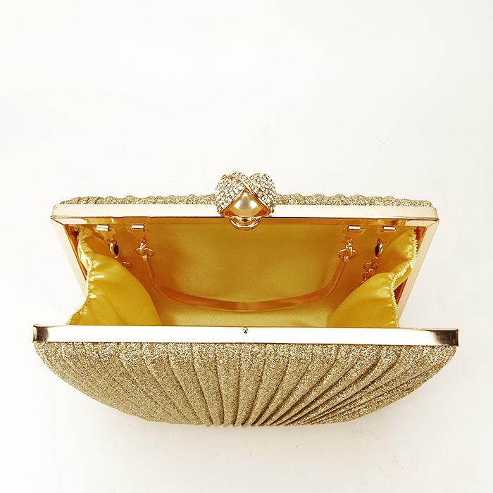 Geanta clutch auriu Ecaterina [3]