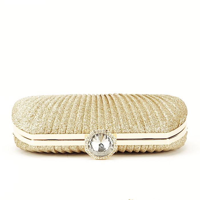 Geanta clutch auriu Elisabeta 6