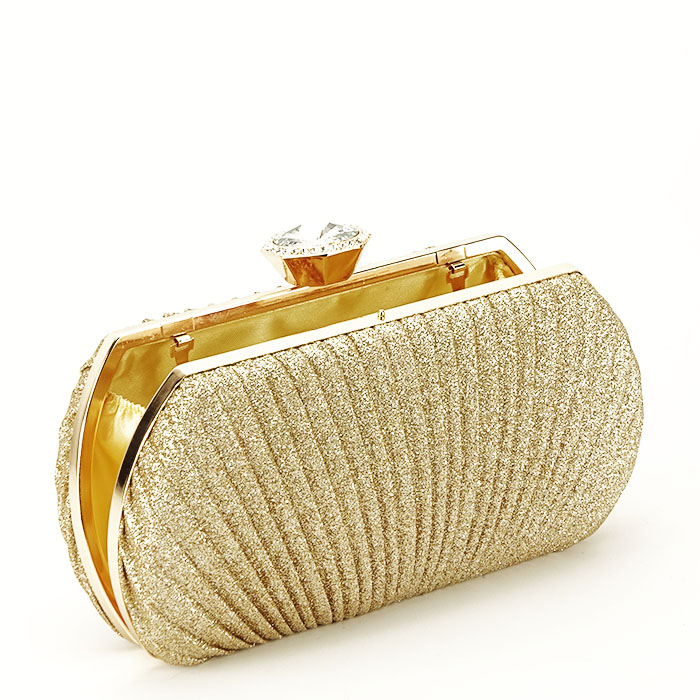 Geanta clutch auriu Elisabeta 3