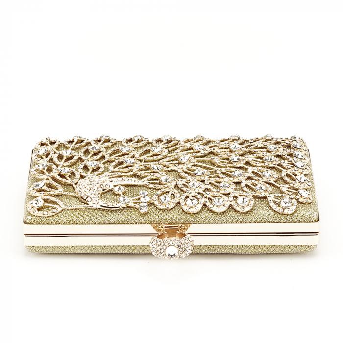 Geanta clutch auriu Rania [4]