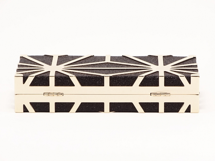 Geanta clutch negru Alison 3