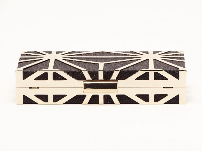 Geanta clutch negru Alison 5