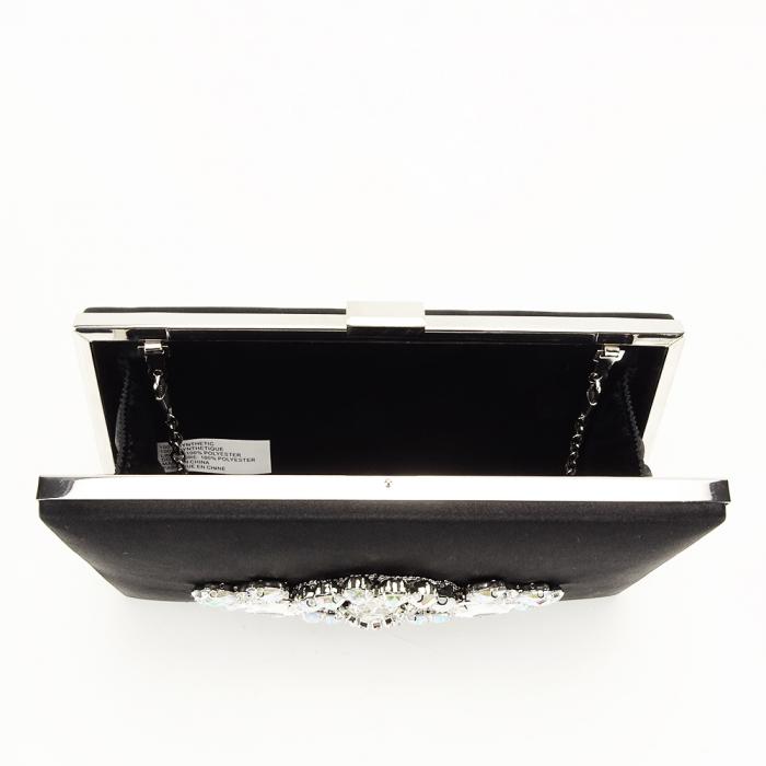 Geanta clutch neagra Queen [3]
