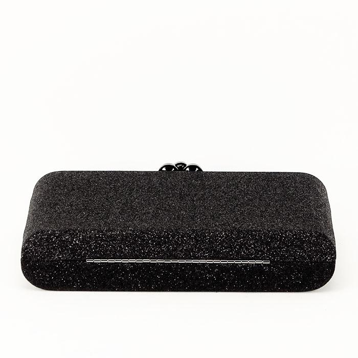 Geanta clutch negru Glory 5