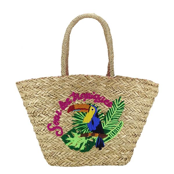 Geanta de plaja cu model tropical Jessy [0]
