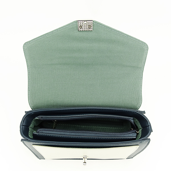 Geanta de talie mica verde inchis Vera [1]