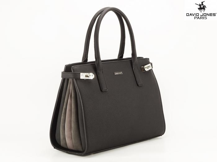 Geanta neagra dama office/casual Lorena 0