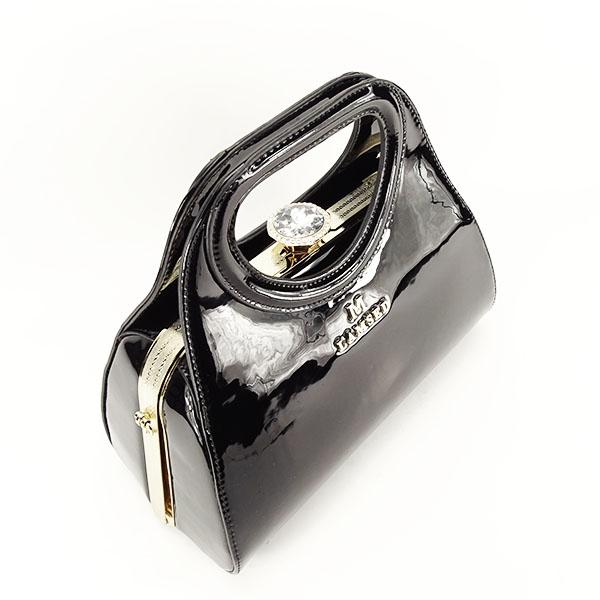 Geanta neagra eleganta Sonia 3
