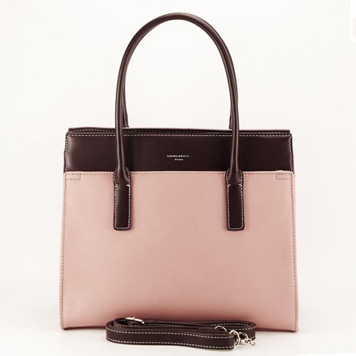 Geanta dama roz office/casual Bertha 4
