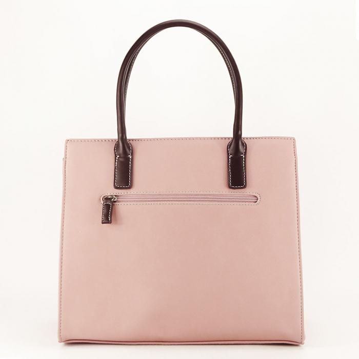 Geanta dama roz office/casual Bertha 2