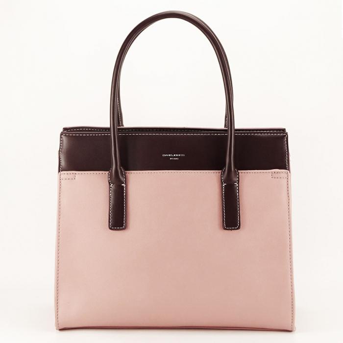 Geanta dama roz office/casual Bertha 0