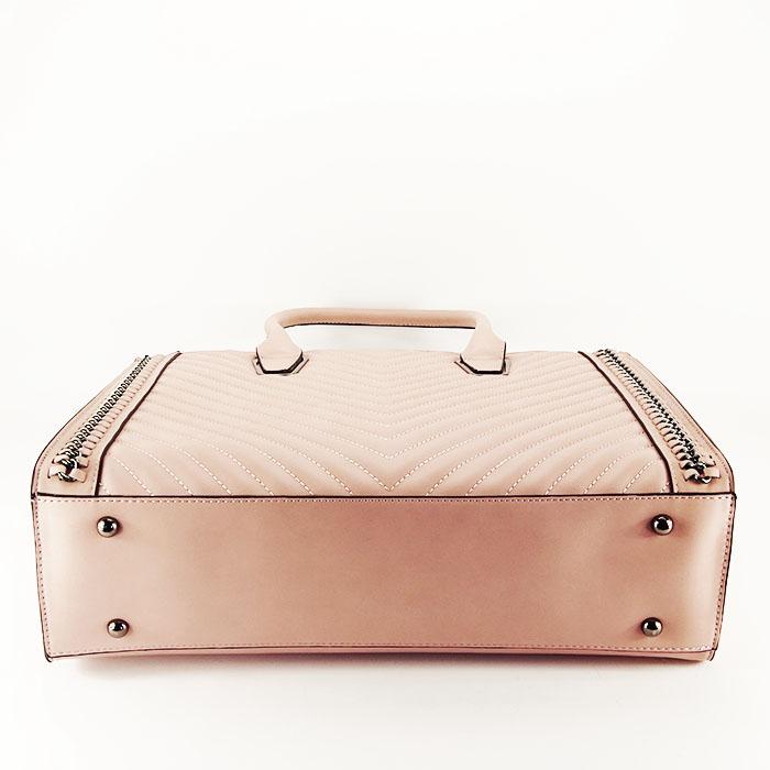 Geanta roz de talie mare Sandra 5