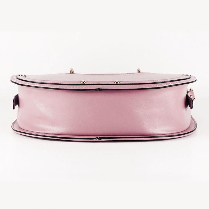 Geanta roz dama de dimensiune medie Mirea 5