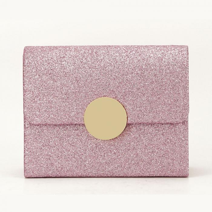 Geanta clutch roz elegant Emma 1