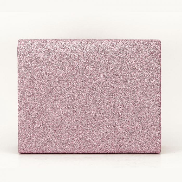 Geanta clutch roz elegant Emma 2