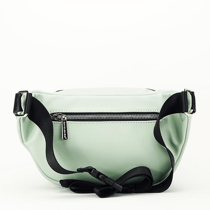 Borseta, geanta de brau verde Crina 2