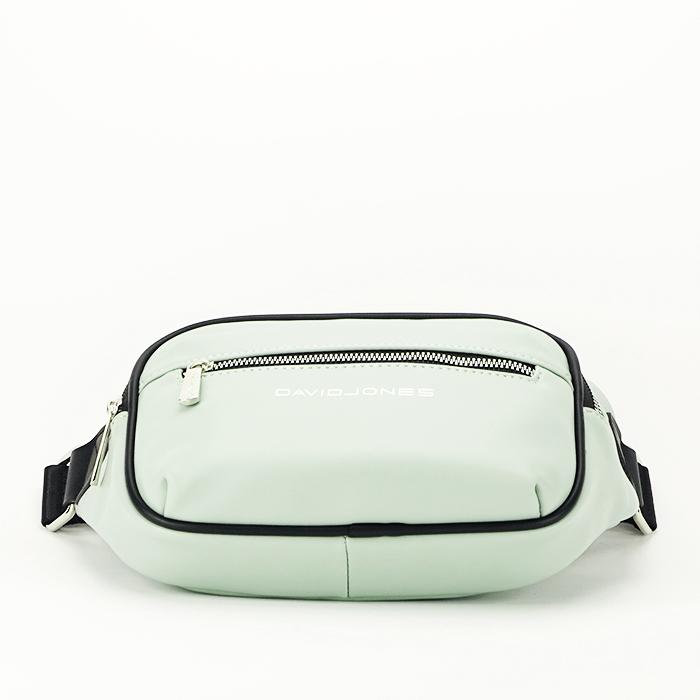 Borseta, geanta de brau verde Crina 4