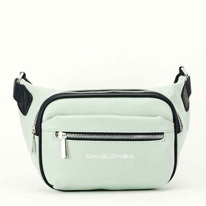 Borseta, geanta de brau verde Crina 1
