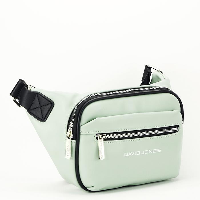 Borseta, geanta de brau verde Crina 0